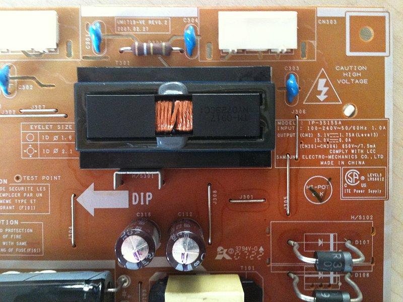 Ремонт монитора samsung 740n своими руками