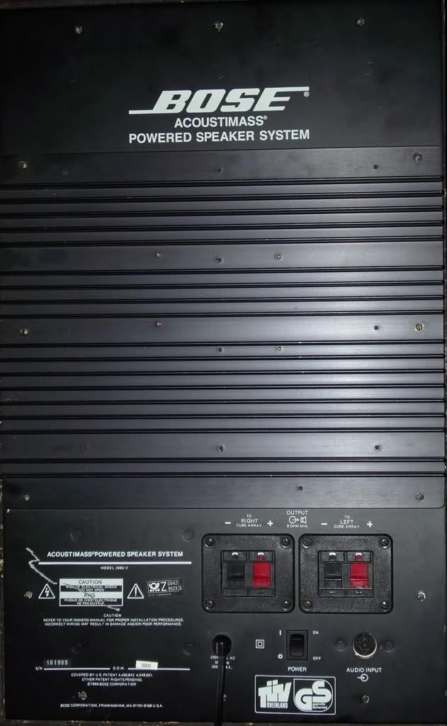 Bose Acoustimass Powered Speaker System Am 5 Bose