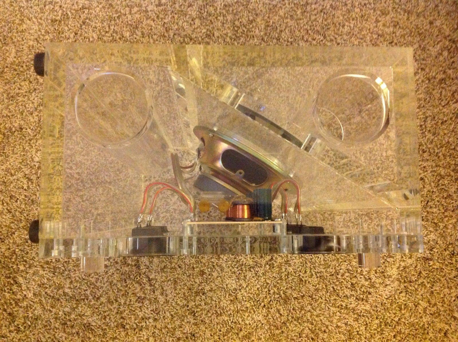 Bose Acoustimass Am 5 Se 501x Series I Inside Whats Wiring Diagram Transparent Plexiglass