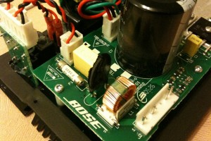 Bose Companion 3 Internals - Power Supply