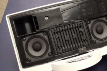 Bose SoundDock Series II internals - dissasembly pulled flex