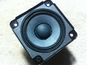 Bose SoundDock Series II internals - speaker