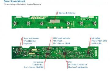 Bose Soundlink Bluetooth Mobile Speaker II - PCB