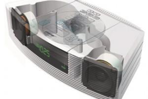 Bose Wave Radio-CD rendered design