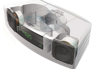 Bose Wave Radio-CD rendered design