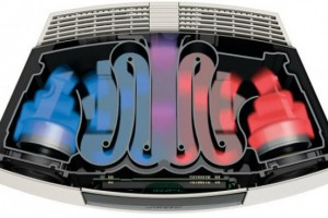 Bose Wave Radio III waveguide design inside