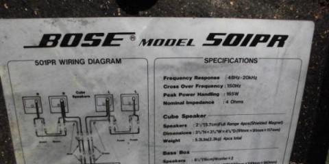 Bose 501PR Acoustimass - Image 3