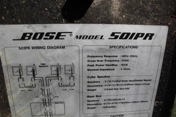 2014 Mazda 3 Bose Wiring Diagram : Bose 501 wiring diagram layout wiring diagrams u2022