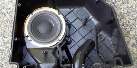 Bose Mercedes R129 Sound System Subwoofer 3