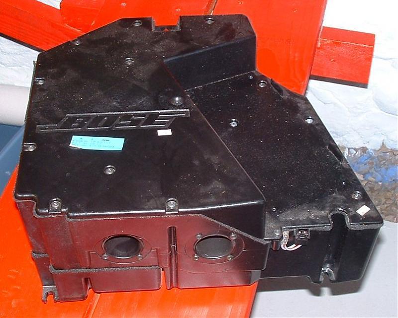 Bose Mercedes R129 SL Sound System - What's Inside