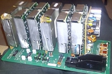 Bose Mercedes W140 Amplifier inside 1