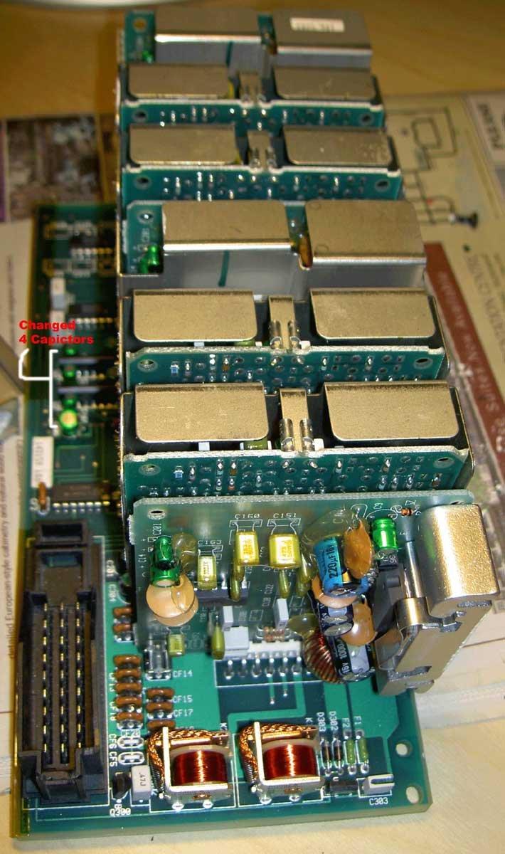 Bose Sound System >> Bose Mercedes W140 Amplifier inside 4 - What's Inside
