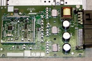 Bose Nissan 350Z 4-channel Amplifier internals