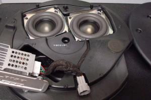 Bose Nissan 370Z Subwoofer inside img1