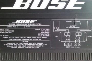 Bose PAM-5 Powered Acoustimass System - Image 2