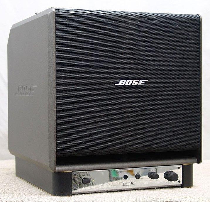 bose sw 4 powered subwoofer image 15 what 39 s inside. Black Bedroom Furniture Sets. Home Design Ideas