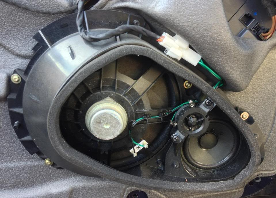 Bose Sound System >> Stock Mercedes R230 SL Speaker Assy 3 - What's Inside