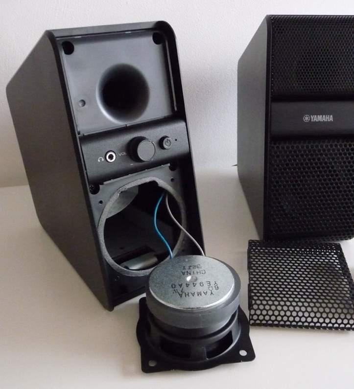 yamaha nx 50 speaker ye944a0 what 39 s inside. Black Bedroom Furniture Sets. Home Design Ideas