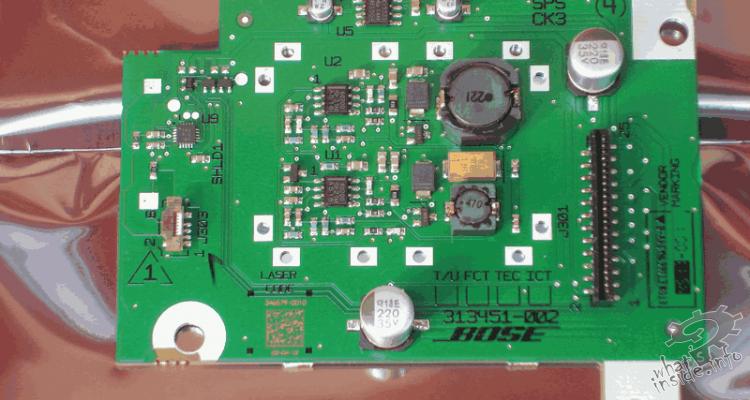 Bose Sps Board Sounddock Portable What S Inside