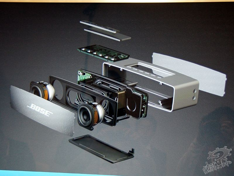 Bose SoundLink Mini - Internal Design - What's Inside