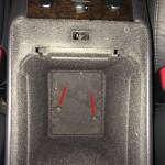Mercedes-Benz W163 ML Window Switches Repair 1 - Storage bin removal