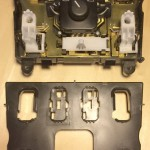 Mercedes-Benz W163 ML Window Switches Repair 16 - Buttons console cover removing