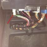 Mercedes-Benz W163 ML Window Switches Repair 3 - Underside windows connectors
