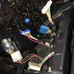 Mercedes-Benz W163 ML Window Switches Repair 4 - Connectors removal