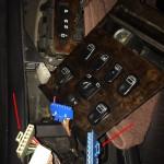 Mercedes-Benz W163 ML Window Switches Repair 5 - Window connectors