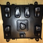 Mercedes-Benz W163 ML Window Switches Repair 7 - Removed console