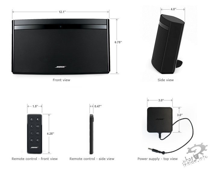 Bose Soundlink Air What S Inside