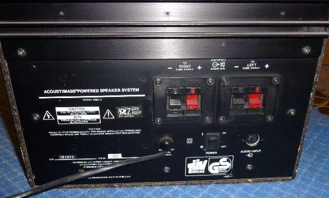 bose acoustimass powered speaker system model 2683 manual
