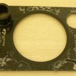 Apple iPod HI-FI Dock aluminium plate back glue