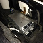 Apple iPod HI-FI Dock cable damping rotted possibly because of leaked electrolyte fumes